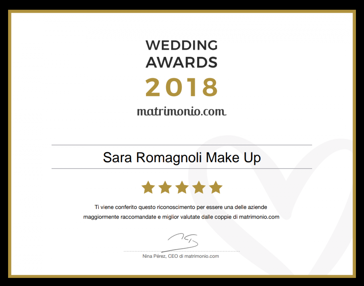 Wedding Award 2018 | Matrimonio.com