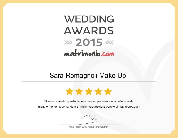 Wedding Award 2015 |Matrimonio.com